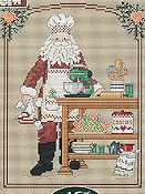 Sue Hillis Designs - Cookie Santa
