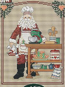 Sue Hillis Designs - Cookie Santa MAIN