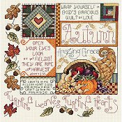 Janlynn Cross Stitch Kit - Autumn