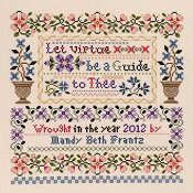 Janlynn Cross Stitch Kit - Let Virtue