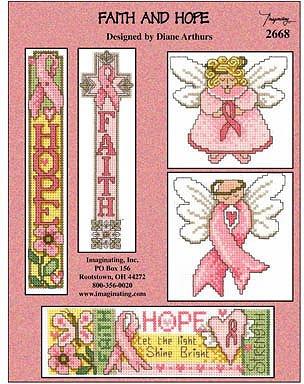 Imaginating Faith And Hope 2668 Cross Stitch