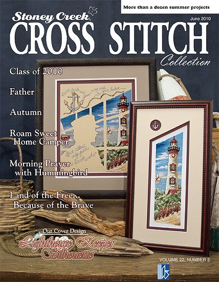 cover of Stoney Creek Cross Stitch Collection magazine June 2010 MJ10 THUMBNAIL