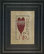 Heart In Hand Needleart - I Do THUMBNAIL