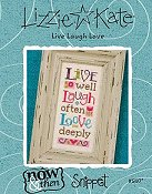 Lizzie Kate Snippet - Live Laugh Love Now & Then