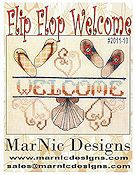 MarNic Designs - Flip Flop Welcome