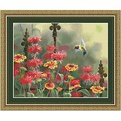 Kustom Krafts - Hummingbird in Bee Balm THUMBNAIL