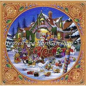 Heaven and Earth Designs - Here Comes Santa Paws
