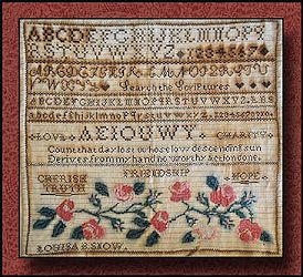 Little House Needleworks - The Louisa B. Snow Sampler MAIN