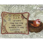 Cherished Stitches - Feathered Friends - March