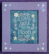 Waxing Moon Designs - Love You To The Moon