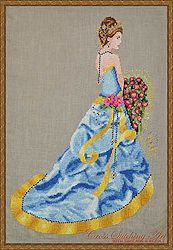 Cross Stitching Art - Milady of Summer MAIN