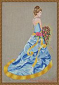 Cross Stitching Art - Milady of Summer