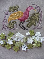 By The Bay Needleart - Birds Of A Funky Feather #1 MAIN