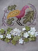 By The Bay Needleart - Birds Of A Funky Feather #1 THUMBNAIL