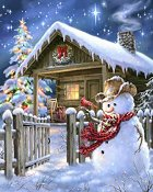 Heaven and Earth Designs - Christmas Cottage