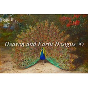 Heaven and Earth Designs - Peacock THUMBNAIL