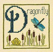 Elizabeth's Designs - D Is For Dragonfly
