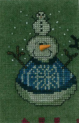 Amy Bruecken Designs - A Man A Month Club - #11 January Snowman THUMBNAIL