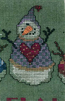 Amy Bruecken Designs - A Man A Month Club - #12 February Snowman THUMBNAIL