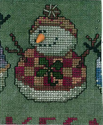 Amy Bruecken Designs - A Man A Month Club - #13 March Wee Snowman