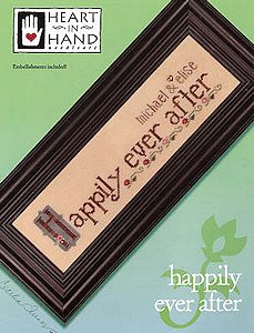 Heart In Hand Needleart - Happily Ever After MAIN