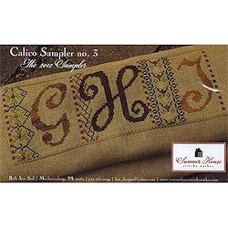 Summer House Stitche Workes - Calico Sampler #3 MAIN