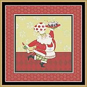 Mystic Stitch - Chef Collection Santa Chef