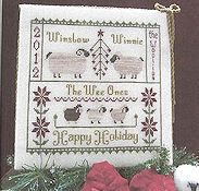 Widgets & Wool Primitives - The Woolie Family Holiday Card