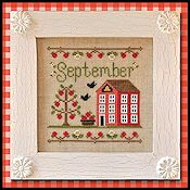 Country Cottage Needleworks - Cottage of the Month - September Cottage THUMBNAIL