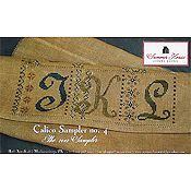 Summer House Stitche Workes - Calico Sampler  #4 THUMBNAIL