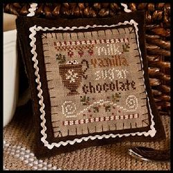 Little House Needleworks - 2012 Ornament #7 - Hot Cocoa MAIN
