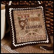 Little House Needleworks - 2012 Ornament #7 - Hot Cocoa THUMBNAIL