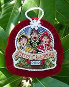 Blackberry Lane Designs - The Carolers Ornament