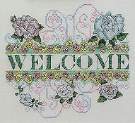 MarNic Designs - Rose Garden Welcome THUMBNAIL