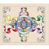 Vickery Collection - Cartouche Motif
