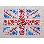 Cherry Lane Designs - Starburst Flag of Great Britain