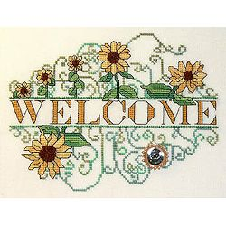 MarNic Designs - Sunflower Welcome MAIN