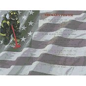 Cody Country Cross Stitch - Fireman's Prayer THUMBNAIL