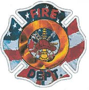 Cody Country Cross Stitch - Thank You Firefighters THUMBNAIL