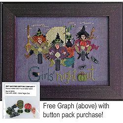 Just Another Button Company - Girls Night Out MAIN
