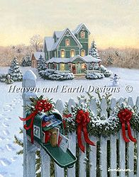 Heaven and Earth Designs - Mini Christmas Mailbox MAIN