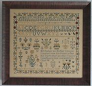 Abby Rose Designs - Ann Merchant 1838 - A Reproduction Sampler