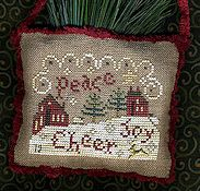 Homespun Elegance - 2012 Sampler Ornament - Spirit of Christmas