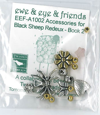 Ewe & Eye & Friends - Black Sheep Redeux 2 Emb. Pack THUMBNAIL
