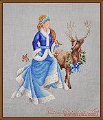 Cross Stitching Art - Winter Fairy Tale