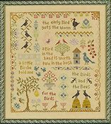 Elizabeth's Designs - Antique Bird Sampler