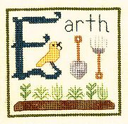 Elizabeth's Designs - E Is For Earth