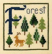 Elizabeth's Designs - F Is For Forest