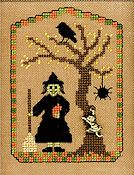 Elizabeth's Designs - A Witch & Her Cat