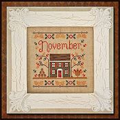 Country Cottage Needleworks - Cottage of the Month - November Cottage THUMBNAIL